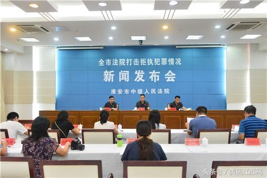 淮安中院召开全市打击拒执犯罪工作专题新闻发布会