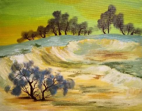 杨贵明油画作品欣赏