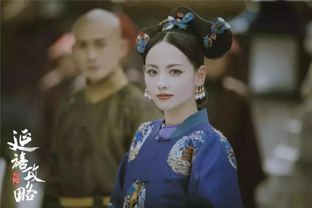"""《延禧攻略》大boss顺嫔上线!戏外的她才是真正""""魏璎珞"""""""