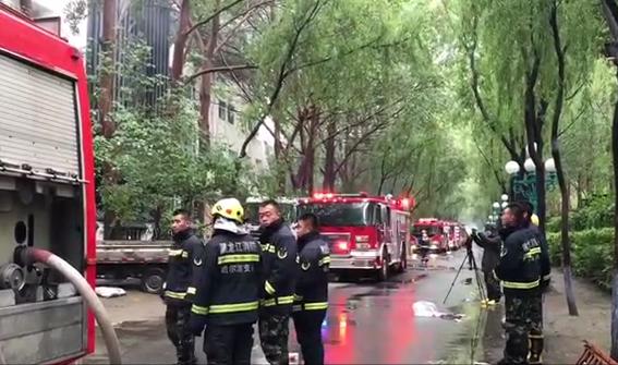 哈尔滨北龙温泉休闲酒店发生火灾 已造成16人死亡