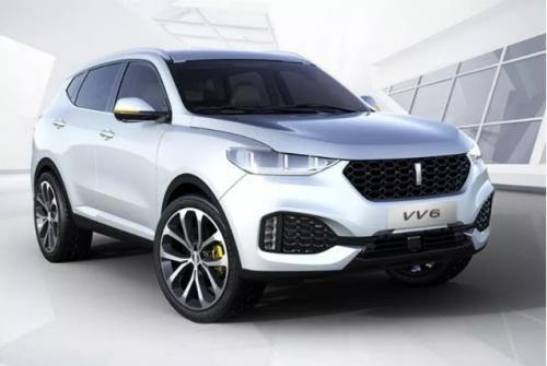 论SUV品牌车走入中国中产阶级,WEY VV6首当其冲