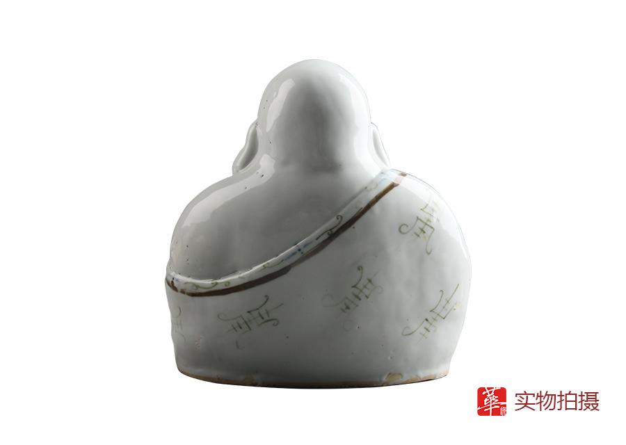 广州华逸:佛像收藏  醴陵弥勒佛瓷雕