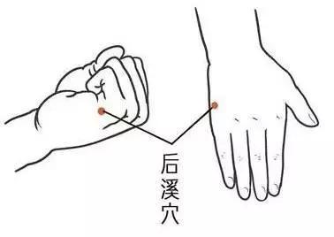 后溪穴——清心安神,通经活络_主治