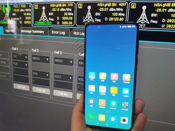 中国三大厂齐晒5G手机!背后站着一巨人的照片 - 4