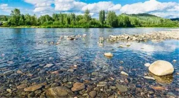 这条河里全是黄金,游客可以在里面免费淘