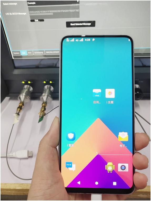 中国三大厂齐晒5G手机!背后站着一巨人的照片 - 3
