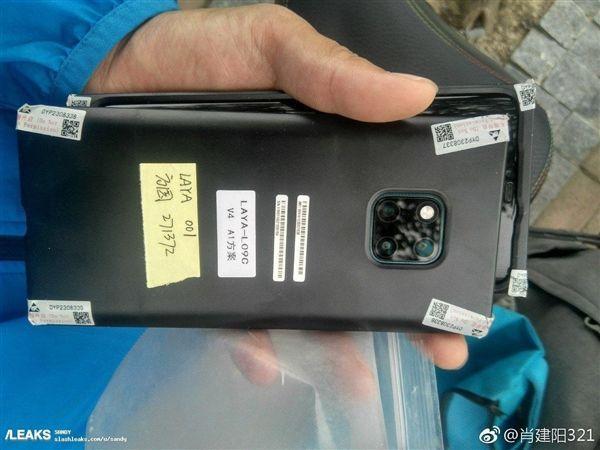 华为Mate 20 Pro机模曝光:曲面刘海屏 屏占比创新高的照片 - 1