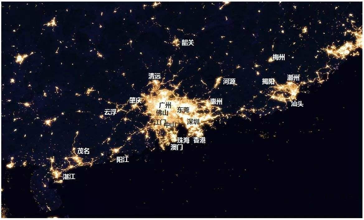 2018年粤港澳大湾区的经济总量_粤港澳大湾区图片
