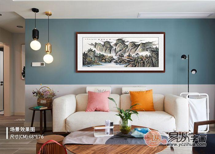 客厅墙壁装饰画图片,高颜值的客厅装饰之选