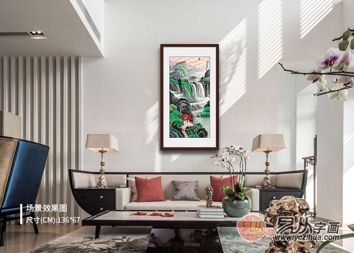 简约客厅装饰画选什么合适?独具韵味的山水画推荐