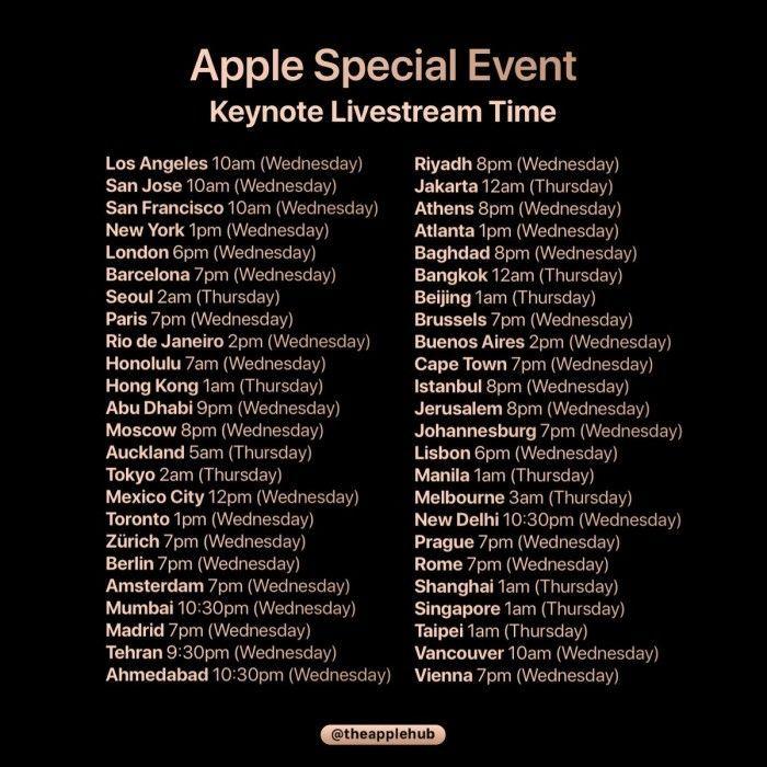 苹果2018年秋季发布会议程曝光:三款iPhone信息汇总的照片 - 3