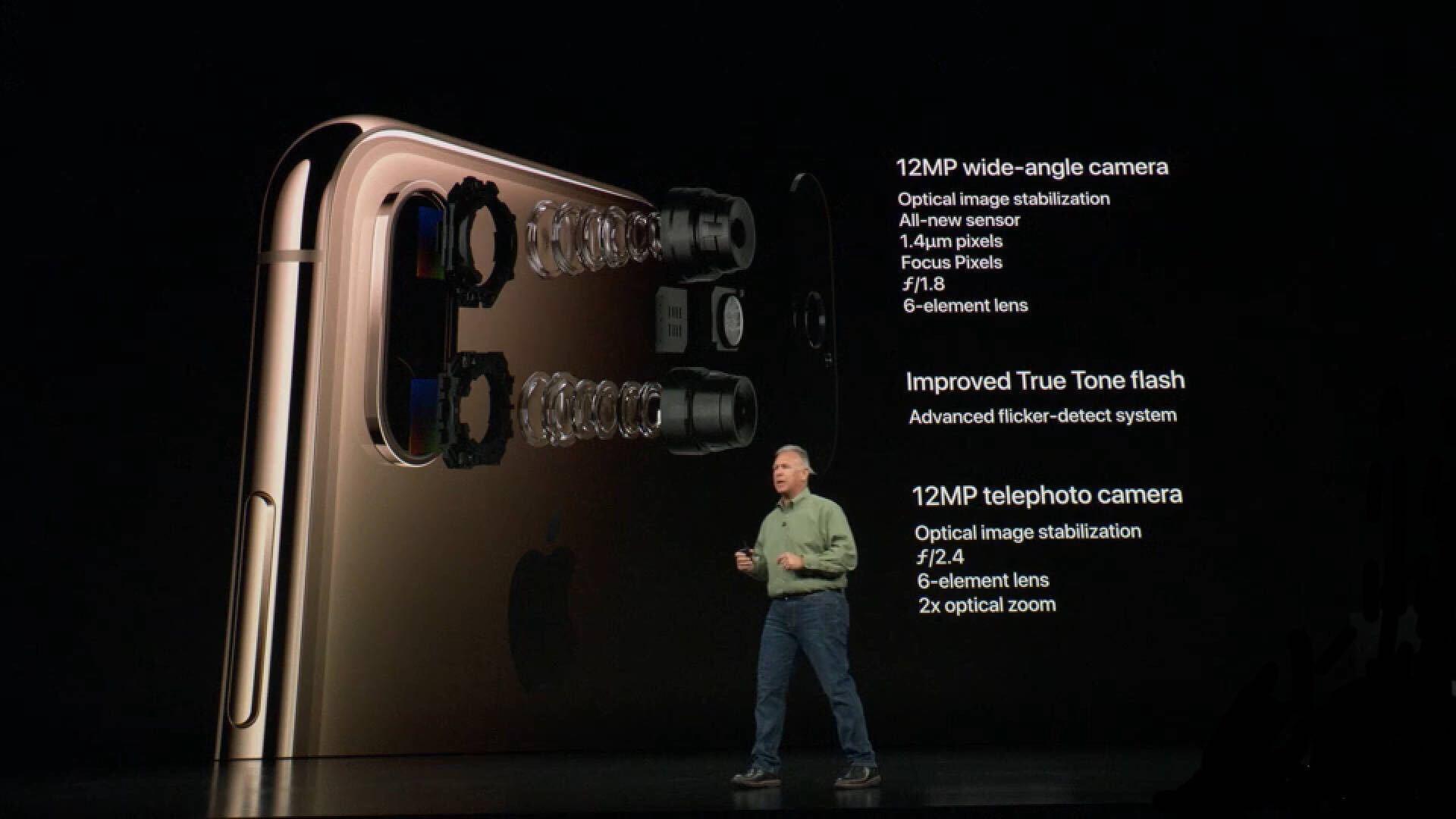 一文看懂2018苹果秋季新品发布会 新款iPhone Xs售价破万的照片 - 9