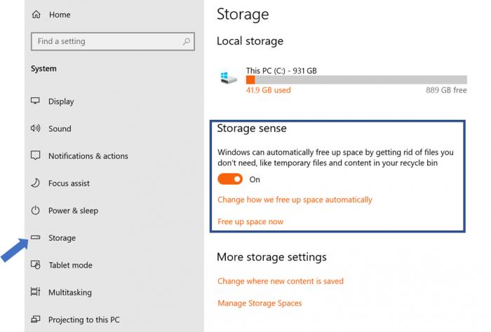 微软正计划在Win10中弃用传统磁盘清理工具
