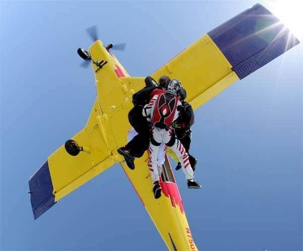 高空跳伞将梦圆银川 9月22日等你开跳