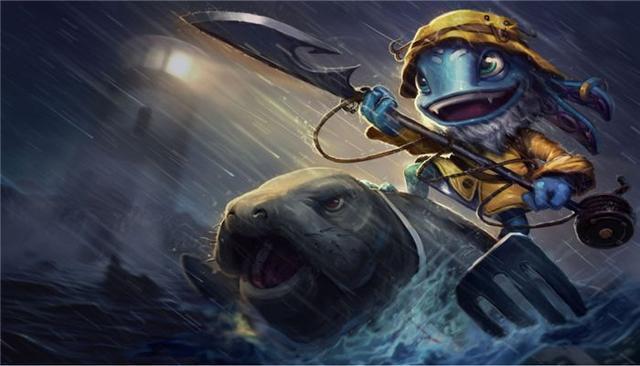 lol小魚人克星排行榜:劫上榜,第一表示你敢打我嗎?