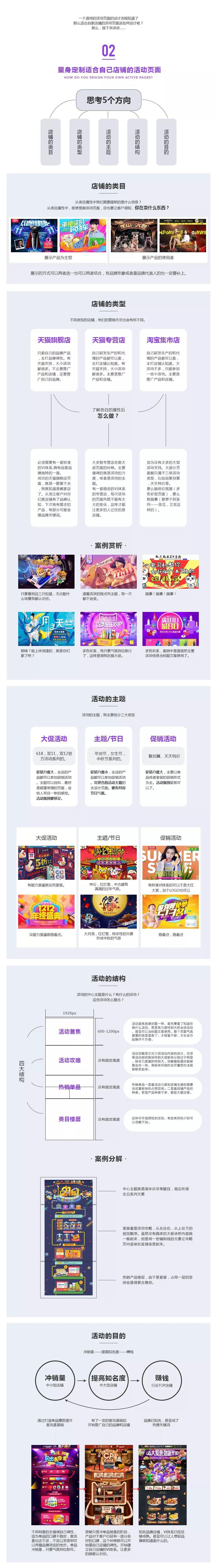 活动页面设计案例