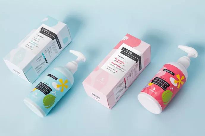 小清新护肤品包装设计