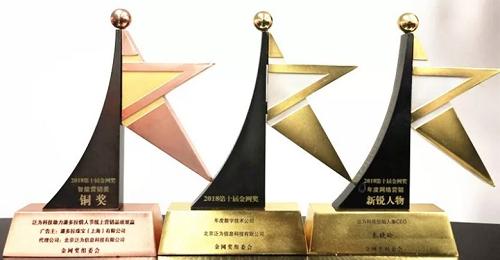 """泛为科技斩获""""金网奖""""三大奖项,数字营销实力认证荣耀"""