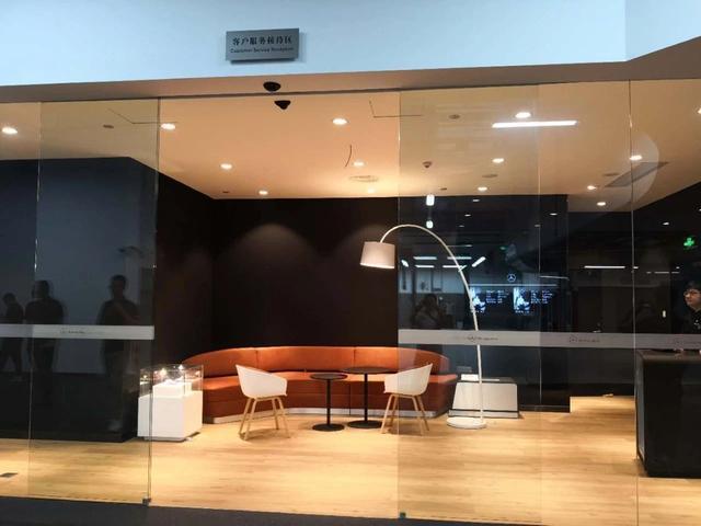但香港展厅只有销售没有售后服务体验区