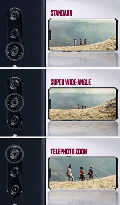 LG V40 ThinQ 全球首部五摄手机的照片 - 2