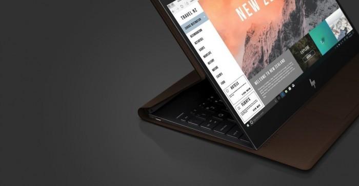 惠普推出Spectre Folio:一款皮质感变形笔记本电脑的照片 - 2