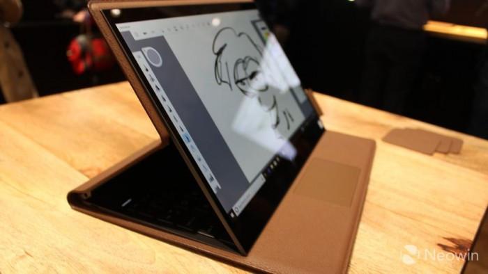 惠普推出Spectre Folio:一款皮质感变形笔记本电脑的照片 - 18