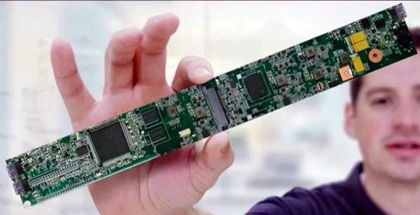 惠普/Intel合作打造长条形笔记本主板的照片 - 3