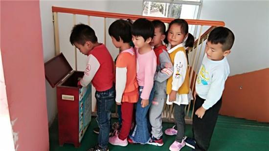盱眙县管镇镇中心幼儿园开展幼儿安全教育活动