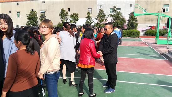 善朝教育集团应邀到盱眙县黄花塘初级中学举行励志演讲