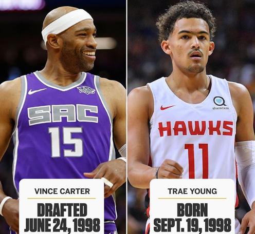 21岁!新赛季NBA揭幕战首发年龄差最大组合诞生