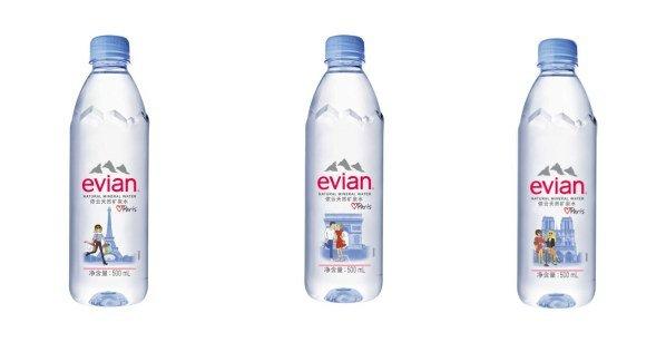 依云携手TIFFANY COOPER共同推出2018年限量巴黎瓶
