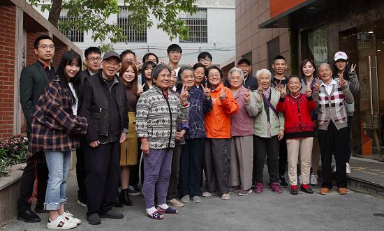 欢度重阳|海豹电竞联合斗鱼直播向养老院老人送祝福