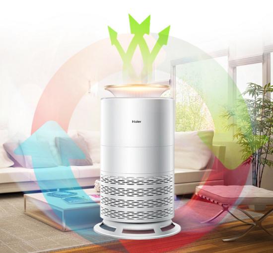 海尔空气净化器添助力 零微科技让生存环境更美好