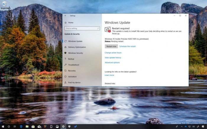 Win10 Build 18267发布:强化系统搜索功能的照片 - 1