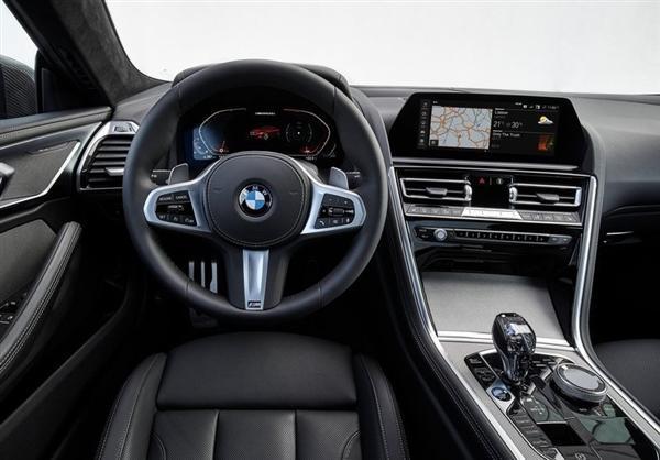 宝马8系Coupe 11月开售 双门跑车设计 搭载4.4T V8引擎的照片 - 5