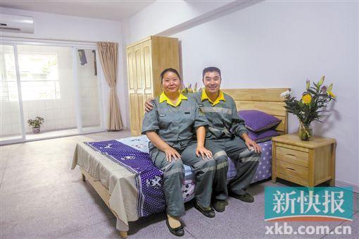 """广州海珠区""""环卫工人之家""""亮相"""