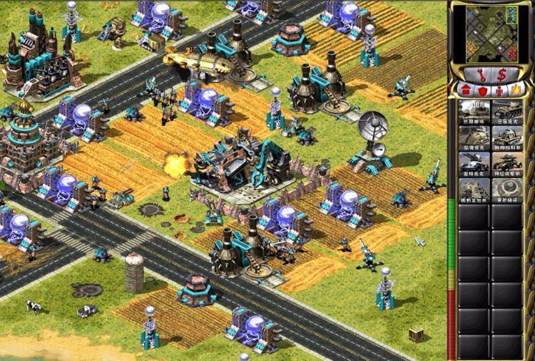 """当年网吧最火的联机游戏之一 红警2让很多人爱上了""""建造游戏""""的照片 - 5"""