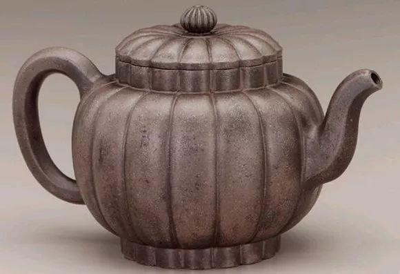 李仲芳 瓜菱壶 美国弗里尔艺术馆