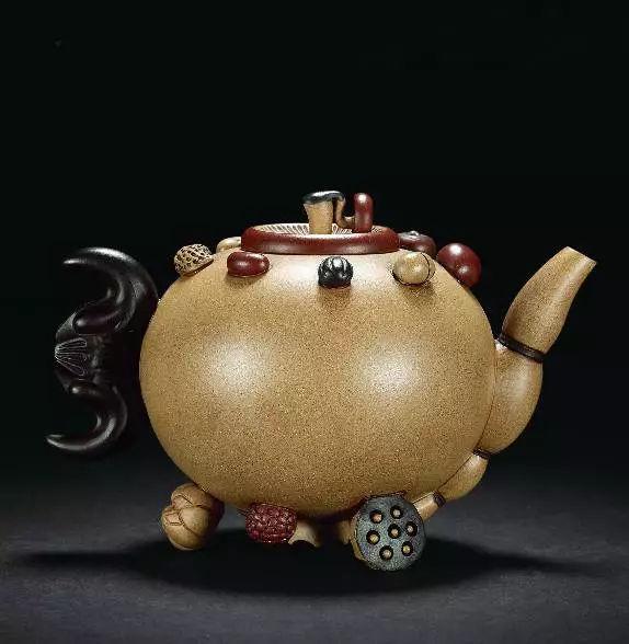 蒋蓉 瓜果紫砂壶
