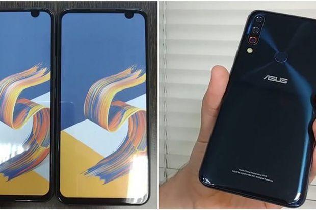 华硕ZenFone 6真机曝光:后置三摄指纹+奇葩刘海开孔的照片 - 1