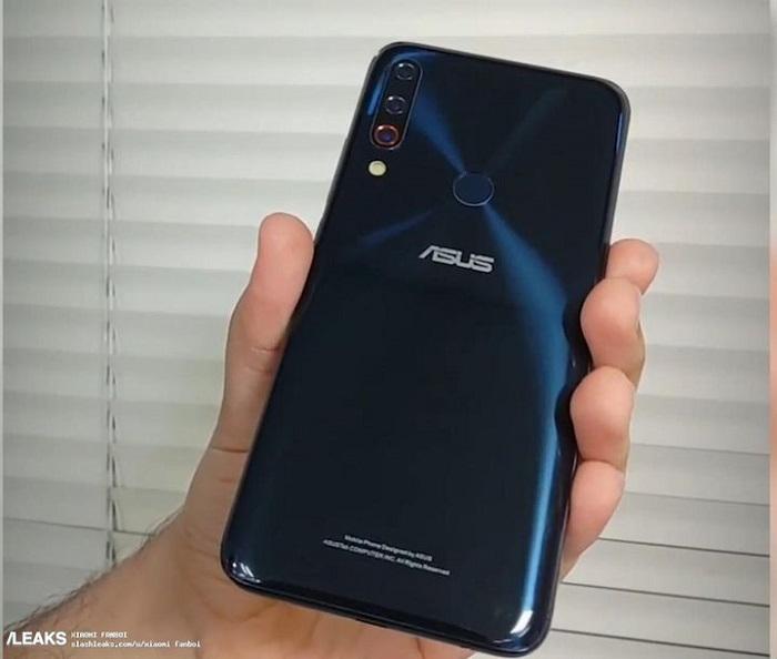 华硕ZenFone 6真机曝光:后置三摄指纹+奇葩刘海开孔的照片 - 3