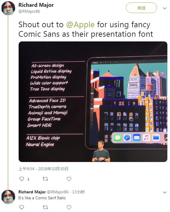 苹果PPT字体被网友强烈吐槽:花哨过头 难以辨认的照片 - 3