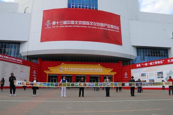 世界文化遗产光影油画惊现第十三届北京国际文博会展出