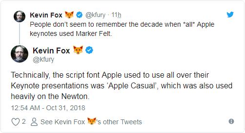 苹果PPT字体被网友强烈吐槽:花哨过头 难以辨认的照片 - 4