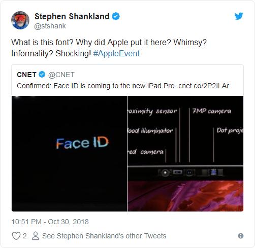 苹果PPT字体被网友强烈吐槽:花哨过头 难以辨认的照片 - 2