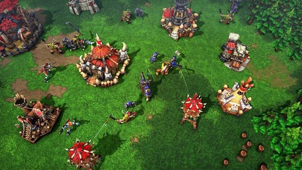 《魔兽争霸3:重制版》中文官网上线:升级4K画质的照片 - 2