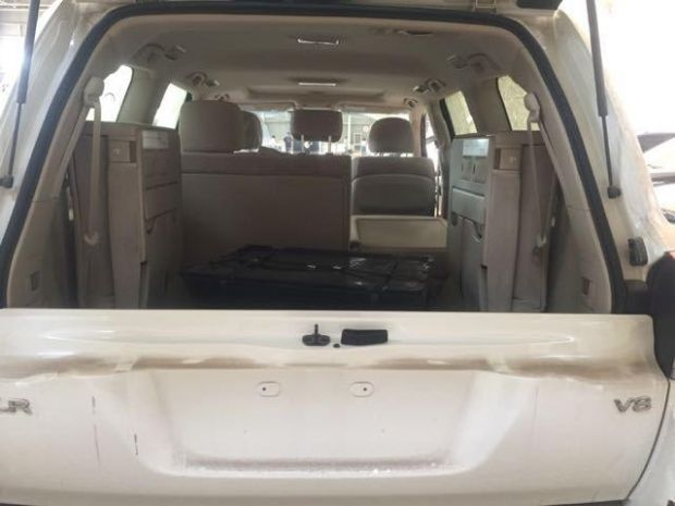 18款丰田酷路泽4600裸车价格多少钱 中东版陆巡配置丰富