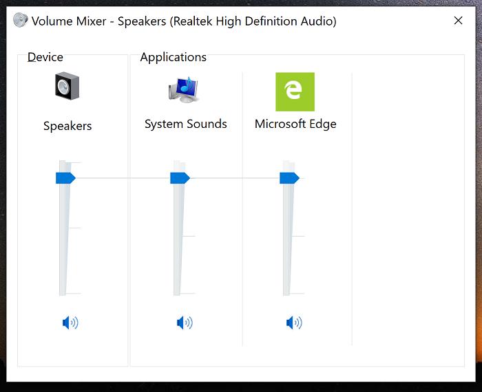 微软或在Win10 19H1中引入全新的音量合成器的照片 - 3