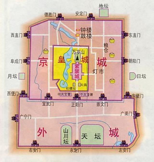 明朝朱棣兴建北京城,为何独缺西北角?背后有什么原因?_城墙
