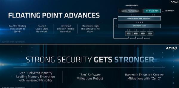 AMD Zen 2架构解析:7nm加持 吞吐翻番的照片 - 5